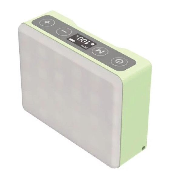 Iwata 岩田 Genius M1 Pro 迷你全彩 RGB LED 補光燈 Green 綠色