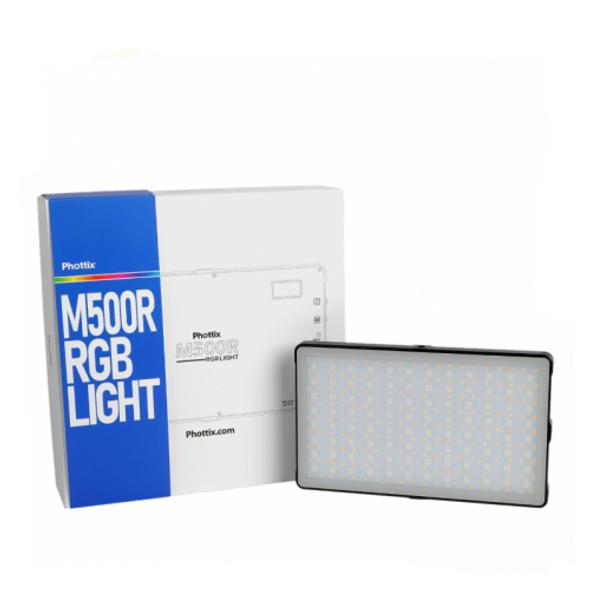 Phottix M500R RGB LED Light 內置電池迷你補光燈