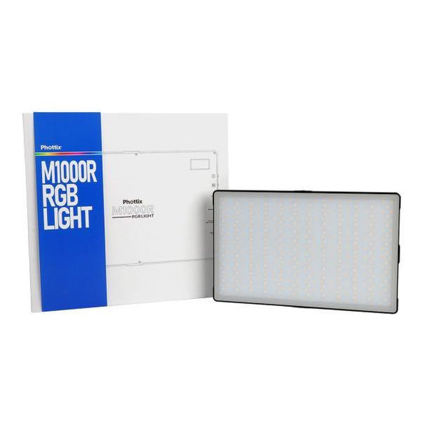Phottix M1000R RGB LED Light 內置電池迷你補光燈