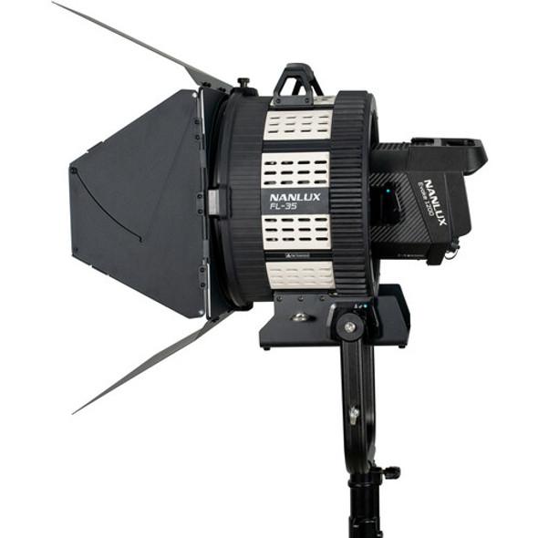 NanLite 南光 FL-35 Fresnel with Barndoors for Evoke 1200 聚光罩連擋光板
