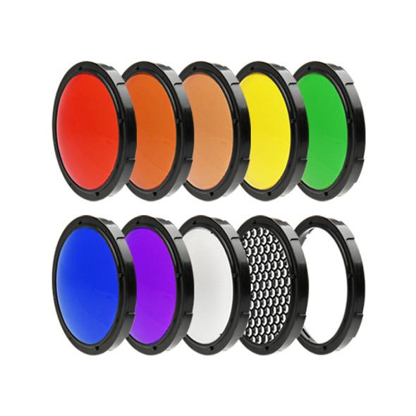 SMDV Light Filter Kit for Speedbox-Flip 閃光燈濾色片套裝