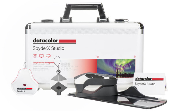 Datacolor SpyderX Studio 專業屏幕校色器套裝