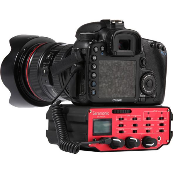 Saramonic SR-AX104 2-Channel XLR Audio Adapter for DSLRs 混音器