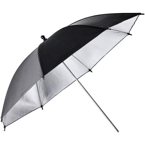 "Godox 神牛 UB-002 Black/Silver Reflector Umbrella 101cm 40"" 黑銀 影樓反光傘"