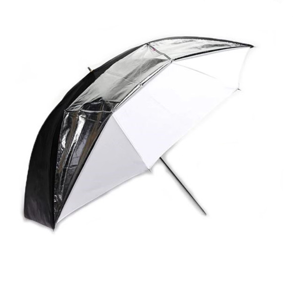 "Godox 神牛 UB-006 Dual-Duty Reflective Umbrella 84cm 33"" 銀白 兩用影樓控光傘"