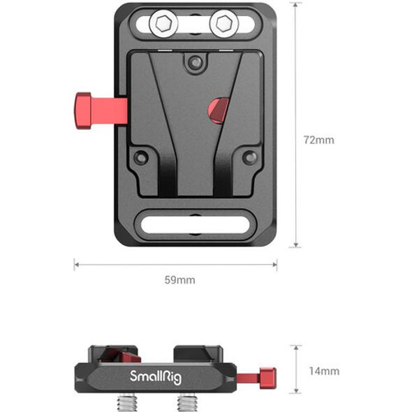 SmallRig Mini V Mount Battery Plate 2987