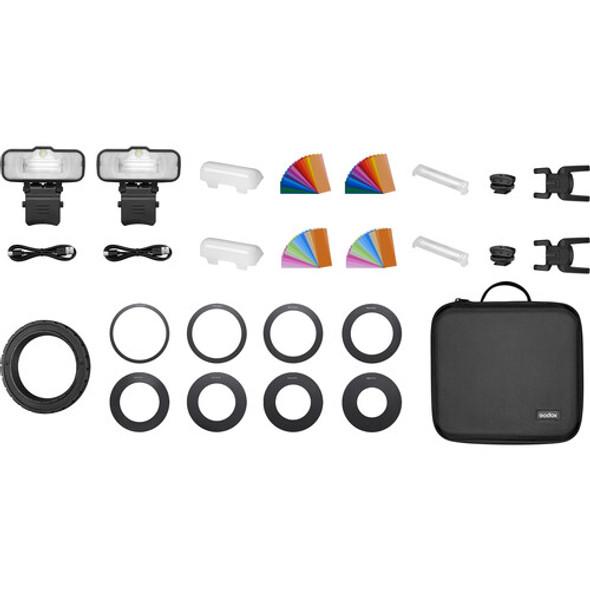Godox 神牛 MF12 K2 Two-light Kit 微距閃光燈 雙燈套裝