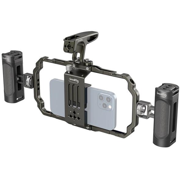 SmallRig Universal Mobile Phone Handheld Video Rig Kit 3155