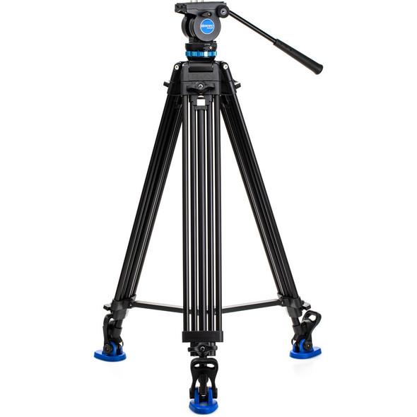 Benro 百諾 KH26P 雙管攝錄腳架連液壓雲台套裝