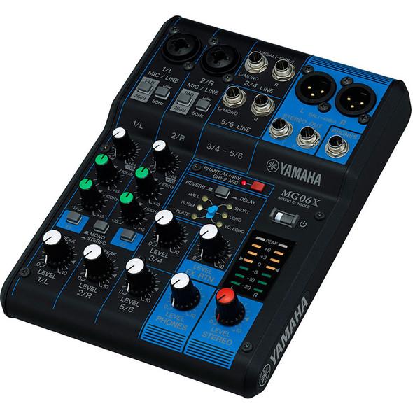 Yamaha MG06X 6-CH Mixing Console 混音器