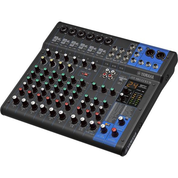 Yamaha MG12XUK 12-Channel Analog Mixing Console