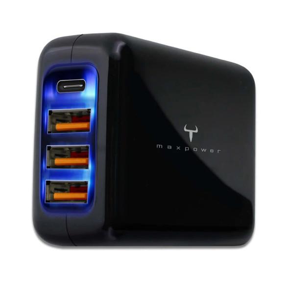 牛魔王 Maxpower MG245PD 45W 4 位旅遊 USB 充電器