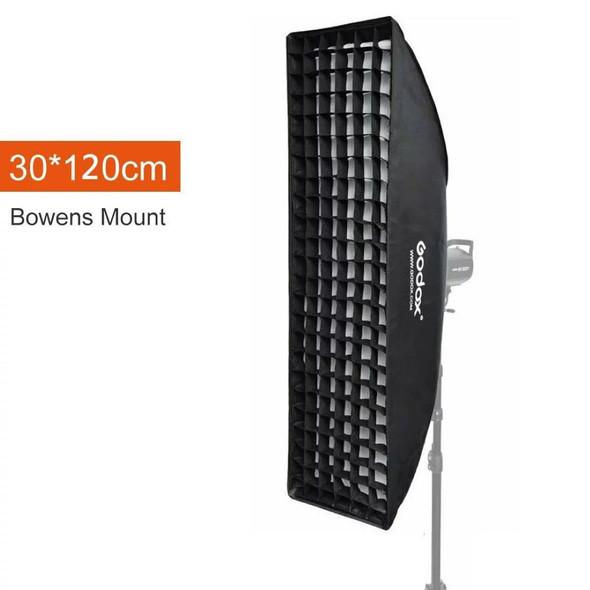 Godox 神牛SB-FW30120 30x120cm Softbox with Bowens Speed Ring and Grid 網格柔光箱