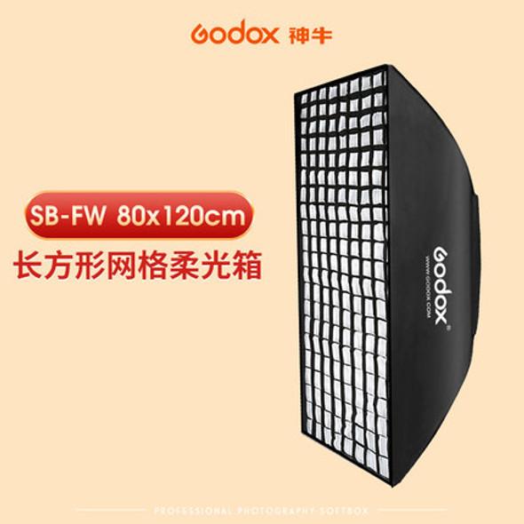 Godox 神牛SB-FW80120 80x120cm Softbox with Bowens Speed Ring and Grid 網格柔光箱