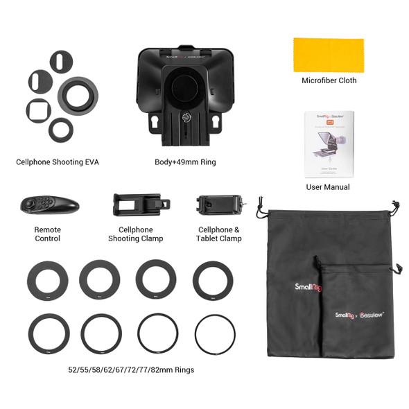 SmallRig x Desview Portable Tablet / Smartphone / DSLR Teleprompter TP10 3374