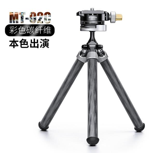 Leofoto MT-02C MBC-20 碳纖維手機三腳架全景雲台套裝