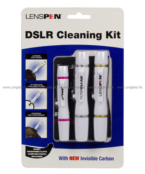 LENSPEN Elite DSLR Cleaning Kit 神奇碳微粒清潔筆套裝