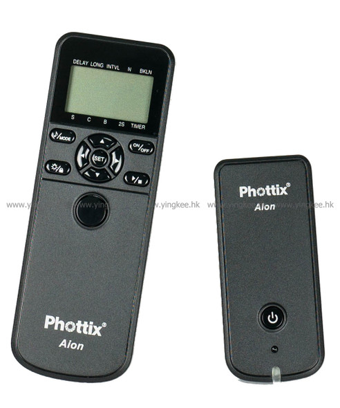 Phottix Aion多功能定時無線遙控器(適用於Nikon)