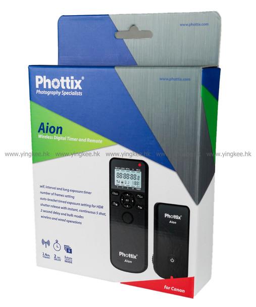 Phottix Aion多功能定時無線遙控器(適用於Canon)