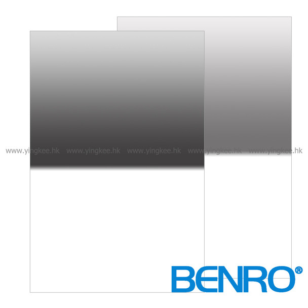 Benro Master 100mm GND8 (0.9) Reverse Glass Filter 德國光學玻璃漸變灰濾鏡