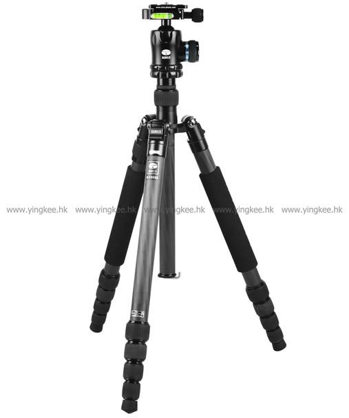 Sirui思銳N-1205X K-10X碳纖維腳架連雲台套裝(可拆獨腳架)