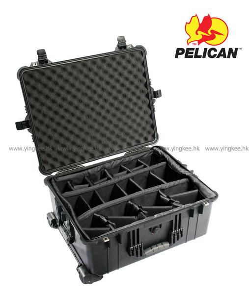 Pelican 1614 PROTECTOR CASES 黑色 軟墊間隔 專業防撞安全箱