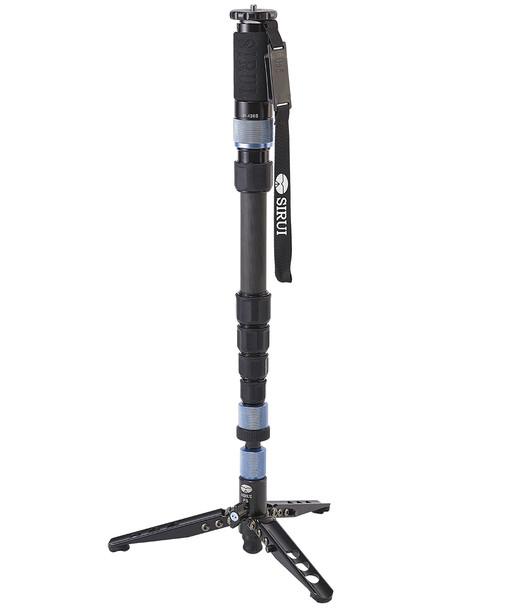 Sirui 思銳 P-426S Carbon Fiber Monopod 碳纖維攝錄獨腳架連支撐三腳