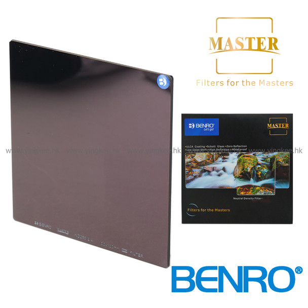 Benro Master ND1000 (3.0) 100mm Glass Filter 德國光學玻璃減光鏡