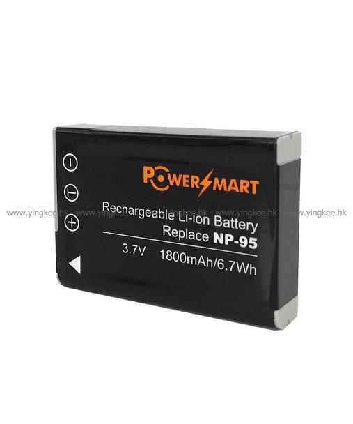 Powersmart NP-95 富士FUJIFILM X100T  X70 X-S1 相機代用電池