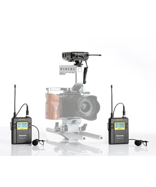 Saramonic UWMIC9 HK 一對二無線單反領夾咪