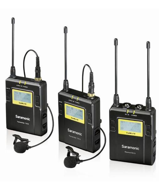 Saramonic UWMIC9-HK RX9+TX9+TX9 一對二無線單反領夾咪
