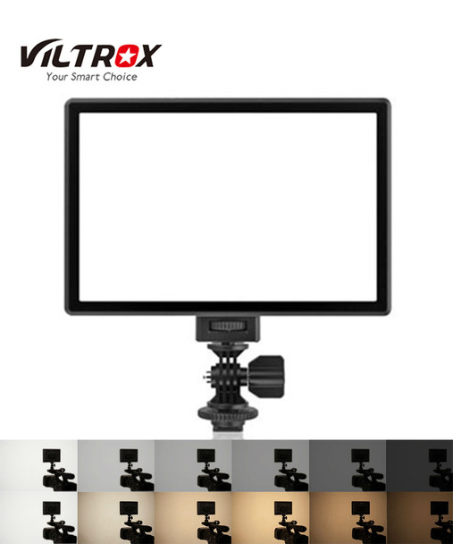 Viltrox 唯卓 L116T 雙色LED 超薄柔光攝錄補光燈