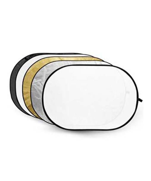 Godox 五合一橢圓反光板 5-in-1 Oval Reflector Disc 90x120cm