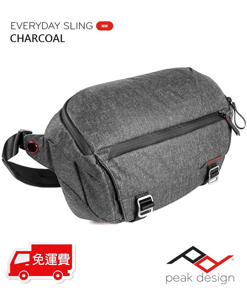 Peak Design Everyday Sling 功能攝影斜揹袋 Charcoal 深灰