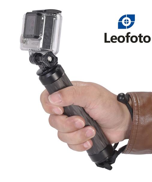 Leofoto CH-01 GoPRO Hero Session 兩用碳纖延長杆浮力捧