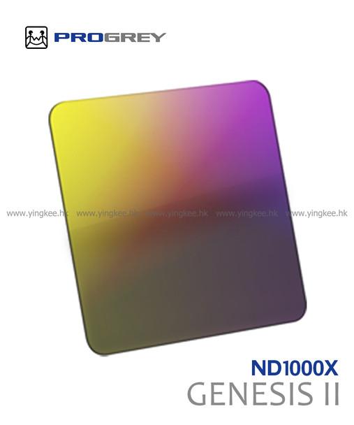 Progrey Genesis II 第二代 Truecolor ND 1000X 10級減光鏡 100x100