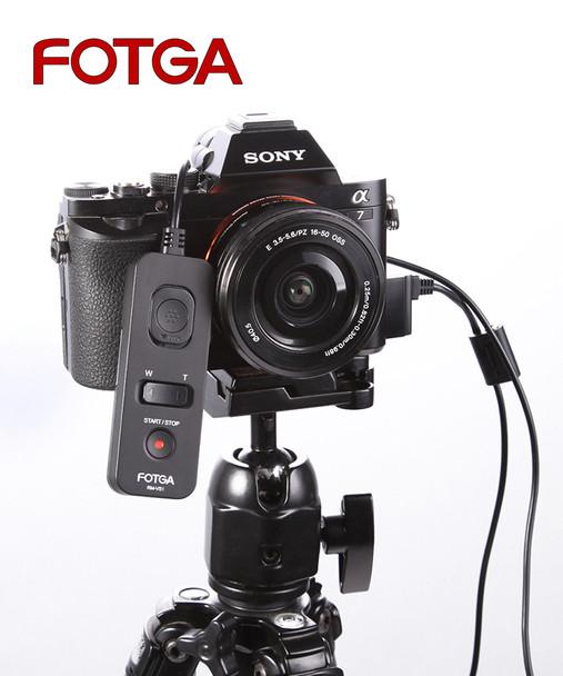 Fotga RM-VS1 多功能Sony專用快門線遙控器 (A6500 / A99 II / A72)