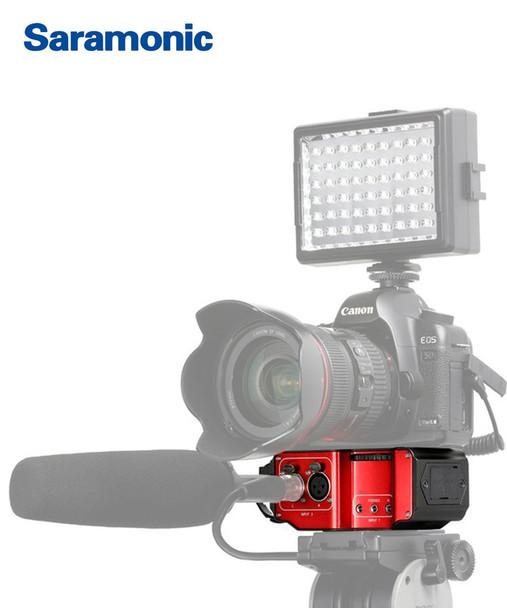 Saramonic SR-PAX2  雙頻道XLR通用攝錄混音器