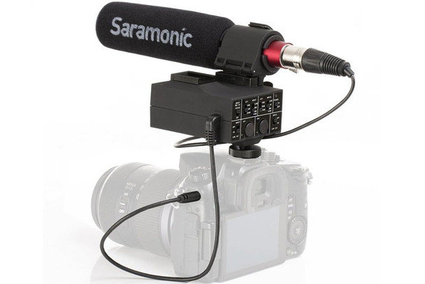 Saramonic MixMic 雙接口二合一收音咪連混音器