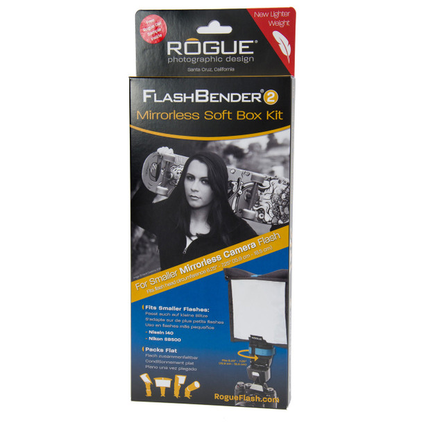 Rogue FlashBender 2 Mirrorless Soft Box Kit 閃光燈柔光板套裝(無反)