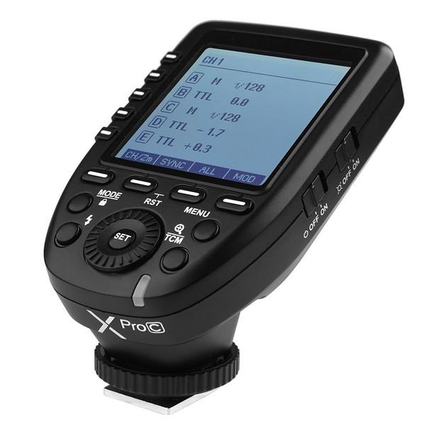 Godox 神牛 Xpro-C TTL Canon Trigger 無線引閃器
