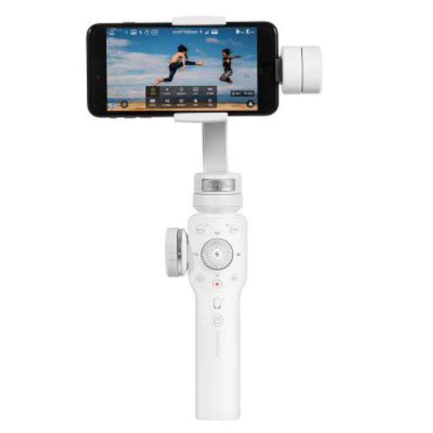 智雲 Zhiyun Smooth 4 專業版三軸手機穩定器 (白色)
