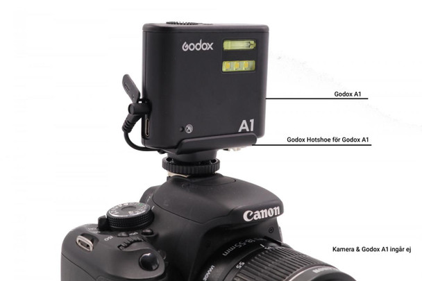 Godox 神牛 Hotshoe for A1 (A holder)