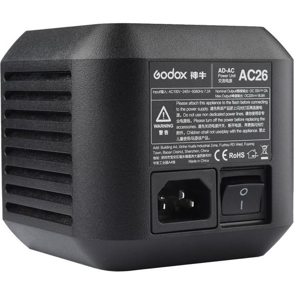 Godox 神牛 AC26 AD600 Pro 閃光燈專用交流電配件