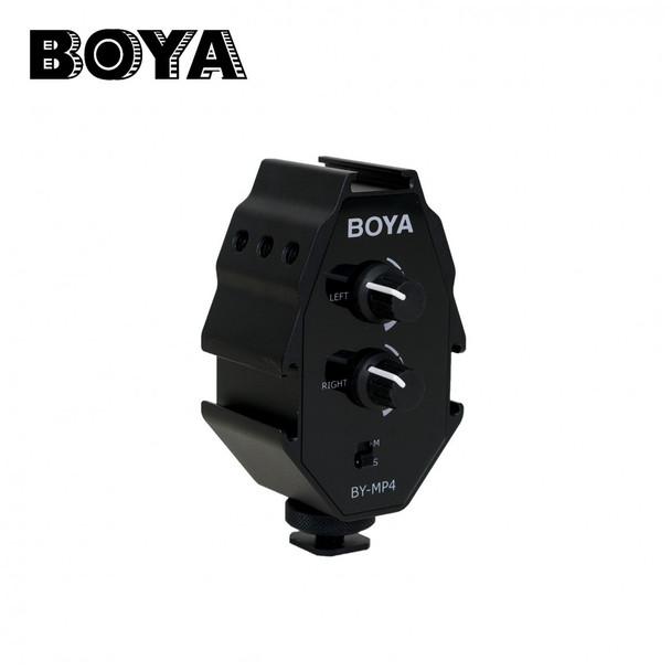 BOYA BY-MP4 機頂混音器