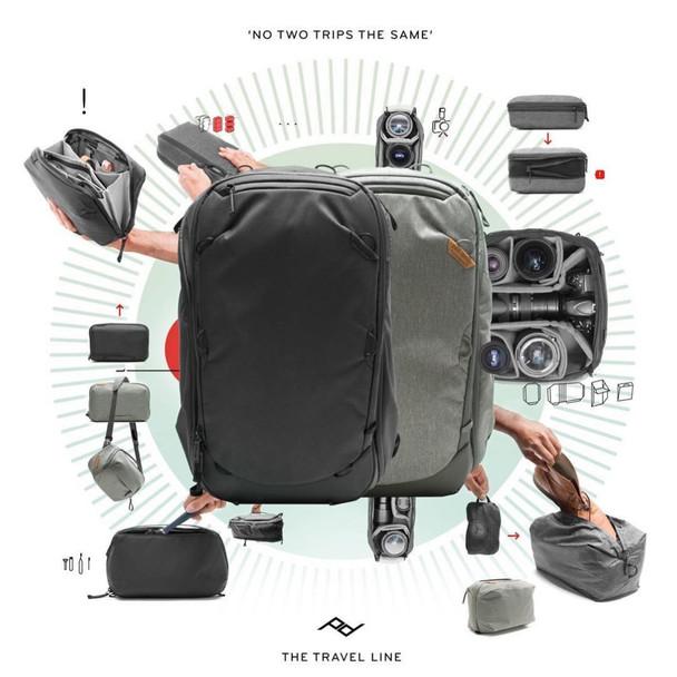 Peak Design Travel Backpack 45L Black 功能攝影背囊
