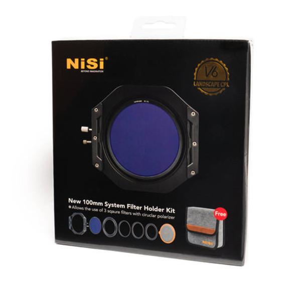 Nisi 耐司 100 System Filter Holder V6 方片濾鏡架連LandScape 偏光鏡