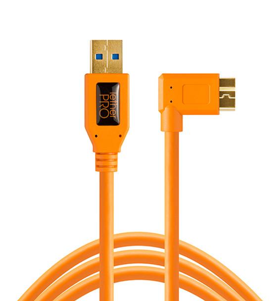 Tether Tools TetherPro  USB 3.0 to Micro-B  Right Angle 數據線 4.6m