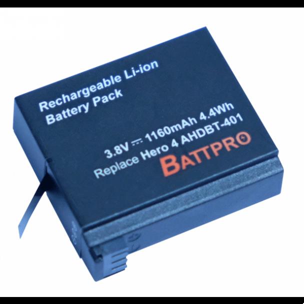 Battpro Gopro Hero4 Battery 代用電池