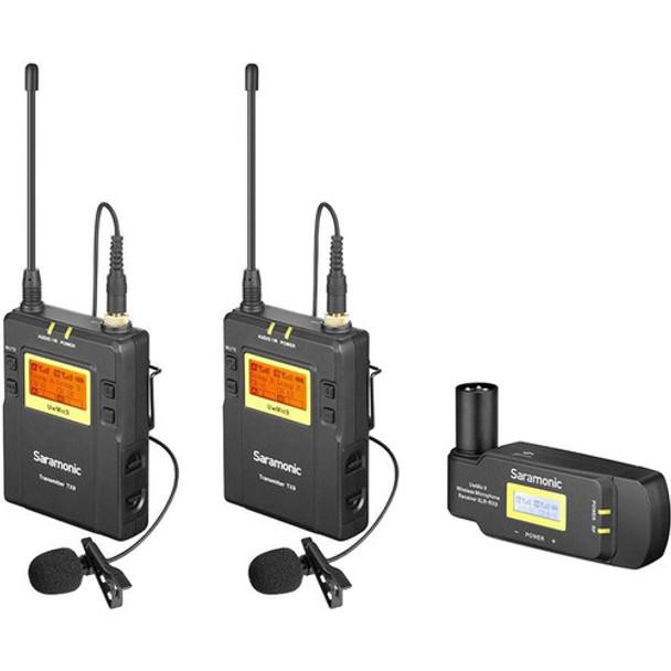 Saramonic UwMic9-HK kit8 一對二無線單反領夾咪